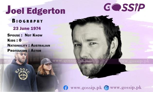 Joel Edgerton Biography Movies Tv Shows Wife Net Worth Early Life Career Gossip Pakistan