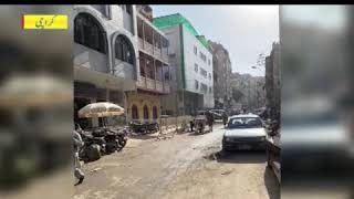 The cleaning process around Wazir Mansion, the birthplace of Quaid-e-Azam, has been completed